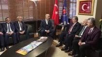 12 EYLÜL - BBP Heyetinden Türk-İş'e 'Hayırlı Olsun' Ziyareti