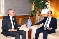 MUHAMMED ALI - Fas Büyükelçisi Lazreq, Başkan Altay'ı Ziyaret Etti