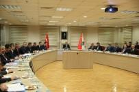 BEKİR ŞAHİN TÜTÜNCÜ - 'Kadına Yönelik Şiddetle Mücadelede Kurumsal İşbirliği Ve Eş Güdümün Arttırılmasına Dair Protokol' Toplantısı