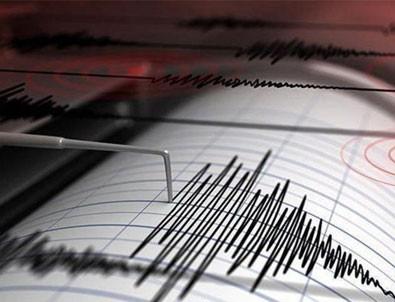 Mersin'de korkutan deprem!