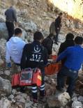 KALP AMELİYATI - Sağlık Ekipleri, Dağ Başında Hastayı 4 Kilometre Taşıdı