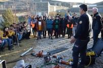 ÇORUH - AFAD Gönüllülerine Kurtarma Ekipmanları Tanıtıldı