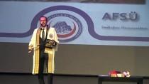AFSÜ Rektörü Okumuş'tan 'Kadına Şiddete Hayır'