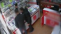 Afyonkarahisar'daki Cep Telefonu Hırsızlığı Güvenlik Kamerasında