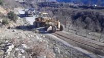 ERMENEK - Alanya'da Karapınar Yoluna Kış Bakımı