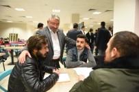 OSMAN ÖZTÜRK - Başkan Aşkın'dan Üniversite Öğrencilerine Moral Ziyareti