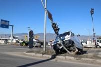 Bolu'da Zincirleme Trafik Kazası Açıklaması 1 Yaralı