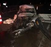Boyabat'ta Trafik Kazası Açıklaması 1 Ölü, 1 Yaralı