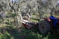 Freni Boşalan Traktörden Atladı, Ağır Yaralandı