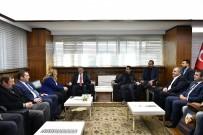 KAYSERİ ŞEKER FABRİKASI - İstikbal Mobilya Kayserispor Başkanı Berna Gözbaşı Ve Yönetim Kurulu Üyeleri Başkan Büyükkılıç'ı Ziyaret Etti