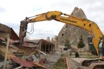 KAÇAK YAPI - Kapadokya'da 240 Kaçak Yapı Yıkıldı