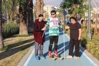 İMİTASYON - Kayaklı Koşu Sporcusu Otizmli Hasan Olimpiyatlara Asfaltta Hazırlanıyor