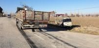 Şuhut'ta Otomobil İle Kamyon Çarpıştı Açıklaması 1 Yaralı
