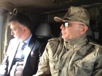 OKTAY ÇAĞATAY - Vali Ve Komutanlar Operasyon Bölgesinde