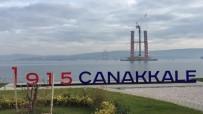 BOĞAZ KÖPRÜSÜ - 1915 Çanakkale Köprüsü'nün Ayakları 100 Metre Yüksekliğe Ulaştı