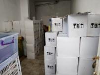 Alanya'da Yılbaşı Öncesi 2 Bin Adet Kaçak Ve Sahte İçki Ele Geçirildi