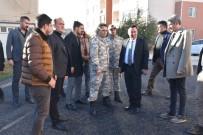 KARACADAĞ - Bağlar Belediyesi 8. Ana Jet Üs Komutanlığı Alanını Asfaltladı