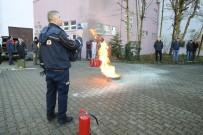 Bartın Üniversitesi'nde Yangın Ve Tahliye Tatbikatı Yapıldı