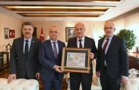 Ulaştırma ve Altyapı Bakanı - Başkan Kayda, Bakan Turhan'dan Salihli'nin Projelerine Destek İstedi