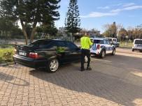 BELEK - Drift Yapan Sürücüye Ehliyet, Araç, Para Ve Psikolog Cezası