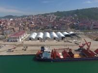 Giresun Limanı Gemi Ağırlamada Rekor Kırdı