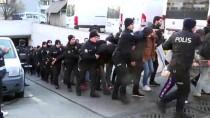 İstanbul'daki Uyuşturucu Operasyonunda Gözaltına Alınan 110 Şüpheli Adliyeye Sevk Edildi