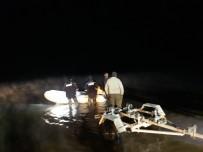 Keban Barajında Mahsur Kalan 3 Balıkçı Kurtarıldı