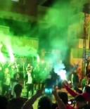 (Özel) İstanbul'da Asker Uğurlamasında Magandalar Yol Kapatıp Terör Estirdi