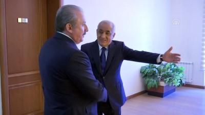 TBMM Başkanı Şentop, Azerbaycan Başbakanı Asadov İle Görüştü