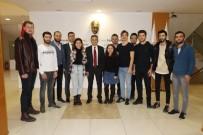 MUHAMMED ALI - TÜRKSAT Genel Müdürü Cenk Şen'den BAKKA'ya Ziyaret