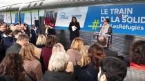 STRAZBURG - Fransa'da 'Dayanışma Treni' Yolculuğuna Başlıyor
