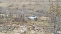 YAYLADÜZÜ - Gercüş'te Virajı Alamayan Otomobil Takla Attı