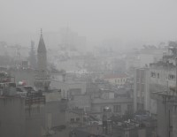 SURİYE - Kilis'te Yoğun Sis Etkili Oldu