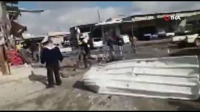 Rus uçakları Maaret El Numan'da pazar yerini vurdu: 11 ölü, 15 yaralı