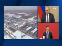 TELEKONFERANS - Rusya'dan Çin'e Doğal Gaz Aktarımı Başladı