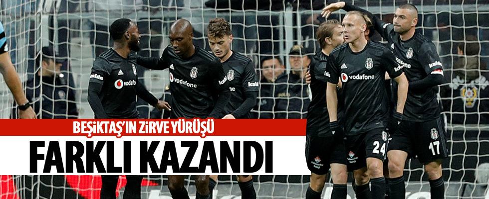 Beşiktaş farklı kazandı!
