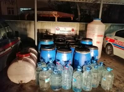 Tekirdağ'da Sahte İçki Operasyonu