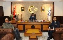 KAYHAN KAVAS - Yörük Ali Efe'nin Torunundan ADÜ Rektörü Aldemir'e Ziyaret