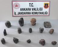HELENISTIK - Akyurt'ta Helenistik Döneme Ait 14 Heykel Ele Geçirildi