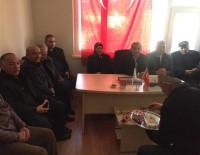İLÇE KONGRESİ - Başkanı Aslan'dan Muhtarlara Ziyaret