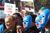 Doğu Türkistan'daki Zulümlere Kınama, Çin Mallarına Boykot Çağrısı