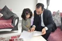 REHBER ÖĞRETMEN - 'Evde Eğitim' Öğrencisi İrem Matur'a Ziyaret
