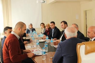 Karakoçan'da Aile Destek Merkezleri Toplantısı