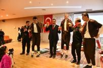 İBRAHIM GÜVEN - Vali Kaymak Ve Tanju Çolak Özel Öğrencilerle Halay Çekti