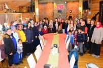 Ardahan'da 'Gökkuşağıma Güneş Ol Projesi' Kapsamında Özel Eğitimli Çocukların Aileleri Yemekte Buluştu