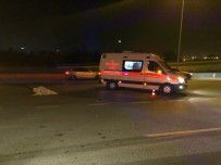 BILKENT - Başkent'te Yolun Karşısına Geçmeye Çalışan Yayaya Otomobil Çarptı Açıklaması 1 Ölü
