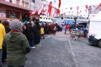 MÜZİK GRUBU - Bayrampaşa'da 6 Ton Hamsi Dağıtıldı
