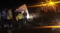 Bursa'da Tır Kazası Açıklaması 2 Yaralı
