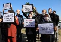 ALPARSLAN TÜRKEŞ - Çöp Tesisine 'Maskeli' Protesto