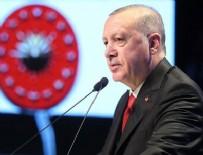 HALIÇ KONGRE MERKEZI - Cumhurbaşkanı Erdoğan CHP'ye seslendi